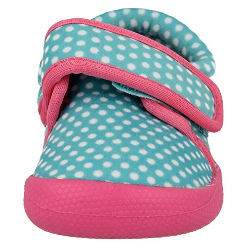 Clarks ShiloDotty première filles chaussons Turquoise