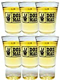 Dos Mas Gläser 6er Set mit Eichstrich 2cl und 4cl
