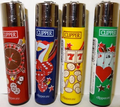 accendini-clipper-accendino-in-vari-colori-e-fantasie-del-casino-di-stampa-254-cm-1-set-di-4-accendi