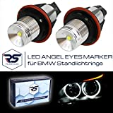 HIGH POWER LED ANGEL EYES Marker in Ultra White 6000K für Standlichtringe E87 E82 E88 E60 E61 E63 E64 E65 E66 E83 E53 E39