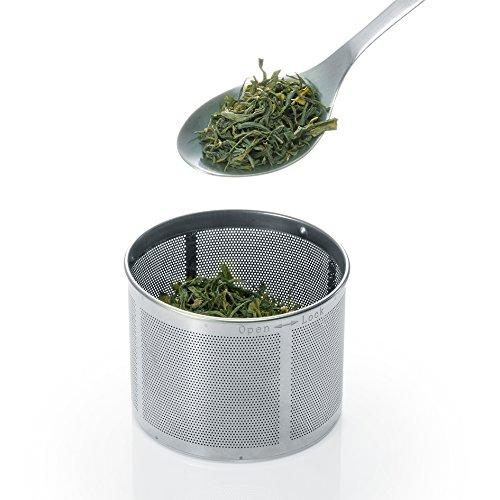 Severin WK 3471 Glas-Tee Wasserkocher, Glas edelstahl gebürstet - 9