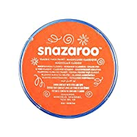 Snazaroo Face and Body Paint, 18 ml - Orange ( Individual Colour)