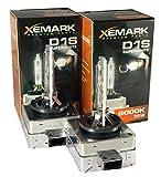 2x D1S Xenon Brenner, 35W 6000K Lampe Birne, Starke Leuchtkraft, 100% passgenau für diverse Fahrzeuge, lange Lebensdauer