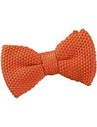 4639c0cb3b84 DQT Boys Knit Knitted Casual Plain Pre-tied Bow Tie