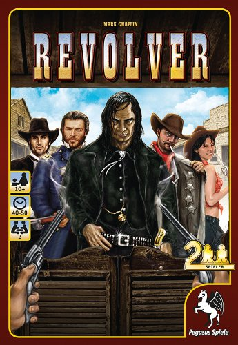 Pegasus Spiele 51895G - Revolver (Gangster Revolver)