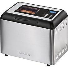 Clatronic BBA 3365 Panificadora programable, Capacidad 1 kg, 11 programas cocción, 34 Posibilidades