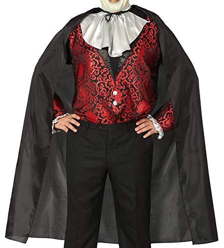 Guirca Schwarze schicht 100 cms - Halloween, Capas (Vampira Halloween De Disfraz)