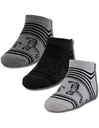 12 Paar Kinder Freizeit Sneakers mit Motiv Zebra mehrfarbig