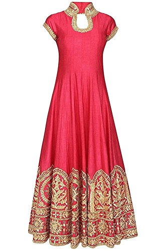 S A creation Coral Red Color Latest Designer Party Wear, Traditional ...