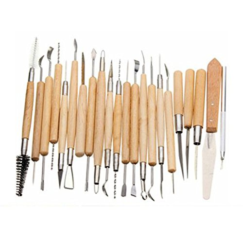 clay-sculpture-tool-sodialr-pack-of-22-carvers-polymer-clay-pottery-ceramics-needle-sculpting-modeli