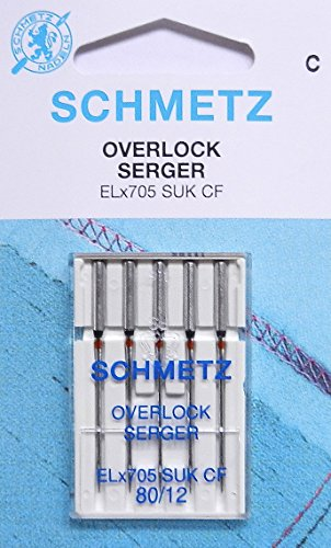 5 Schmetz Agujas Máquinas Coser máquinas overlock