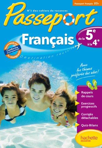 Passeport - Français de la 5e à la 4e par Isabelle de Lisle