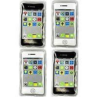 com-four® 4X Taschenwärmer, Handwärmer im Handy Design - ideal für kalte Tage und für Unterwegs (04 Stück - Handy)