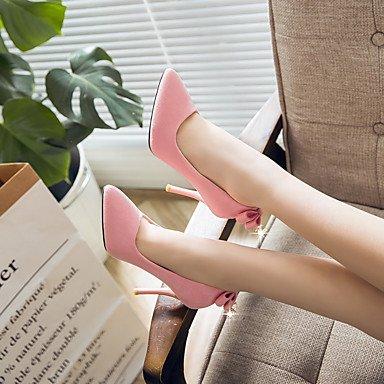 Talloni delle donne del tallone Primavera Estate Altro similpelle abito a spillo Altri Nero Rosa Grigio Gray