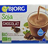 Bjorg Mini Boisson Soja Chocolat Calcium Bio 3 x 25 cl - Lot de 4