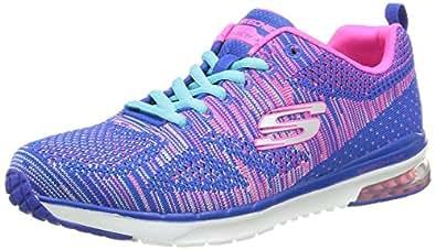 Skechers Skech-Air Infinity-Wildcard, Women Multisport Outdoor Shoes, Blue (blhp), 2 UK (35 EU)