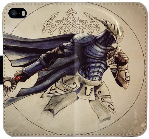 sven-rogue-knight-dota-l3s1u-cover-iphone-5c-leather-wallet-case-cvbc27-phone-flip-case-plastic-hard