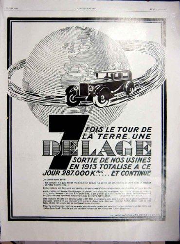 stampa-1929-del-francese-di-urodonal-dellannuncio-dellautomobile-di-delage