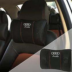 OPAYIXUNGS Auto Hals Kissen Audi Nackenstütze Nackenkissen für Autositz Auto Hals Kissen, Kopfstütze 1pack