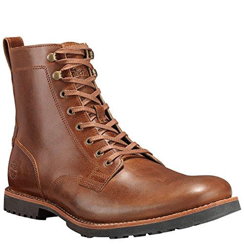 Timberland Kendrick Side Zip Boot - Men's Medium Brown Full Grain, 10.0