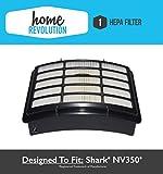 51Q B9xFumL. SL160  - BEST BUY NO.1# Shark NV350 XHF350 Navigator Lift-Away Compatible HEPA Filter Fits NV351, NV352, NV355, NV356, NV356E, NV357; Home Revolution Brand Replacement by Home Revolution Reviews uk