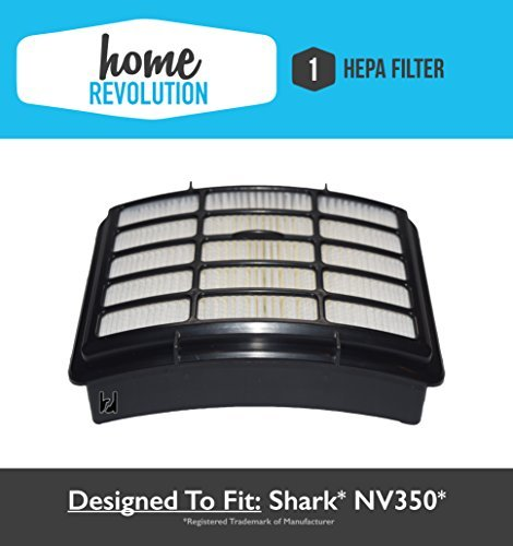 51Q B9xFumL - BEST BUY NO.1# Shark NV350 XHF350 Navigator Lift-Away Compatible HEPA Filter Fits NV351, NV352, NV355, NV356, NV356E, NV357; Home Revolution Brand Replacement by Home Revolution Reviews uk