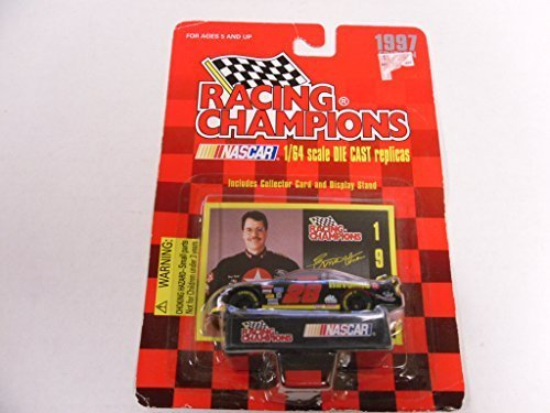 Racing Champions 1/64 scale diecast with collectible card 1997 edition #28 Ernie Irvan by Racing Champions