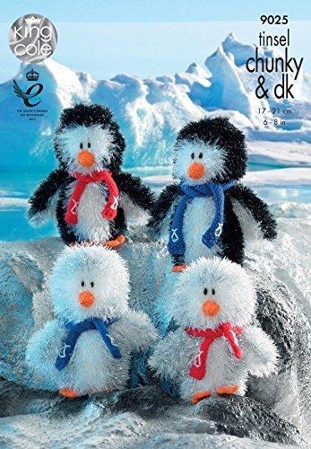 King Cole Muster 9025 - Lametta Klobige Penguin -