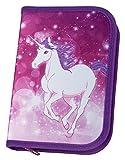 Undercover UNFI0440 Scooli  Schüleretui mit Stabilo Markenfüllung, Magic Unicorn, 30 teilig