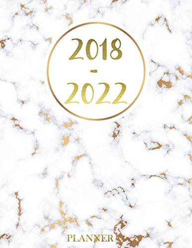 2018 - 2022 Planner: Agenda Planner For The Next Five Years, 60 Months Calendar,Monthly Schedule Organizer |Appointment Notebook, Monthly Planner, ... Volume 3 (2018-2022 five year planner) por Pekky M. Green