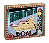Construction Kit and Paint Set Boat - Construction Kit and Paint Set - amazon.co.uk