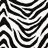 murando - Vlies Tapete - Deko Panel Fototapete - Wandtapete - Wand Deko - 10 m Tapetenrolle - Mustertapete - Wandtapete - modern design - Dekoration - Zebra Zebramuster Tiermuster f-A-0112-j-b