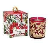 Aroma velas de cera de soja Natural con fragancia de–6,5por Michel Design Works, vacaciones Navidad colecciones
