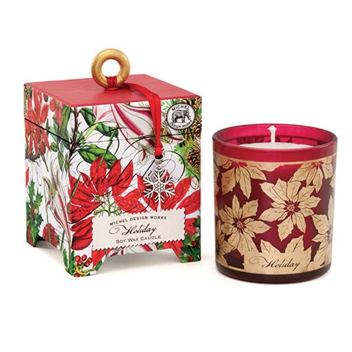 Aroma velas de cera de soja Natural con fragancia de-6,5por Michel Design Works, vacaciones Navidad colecciones