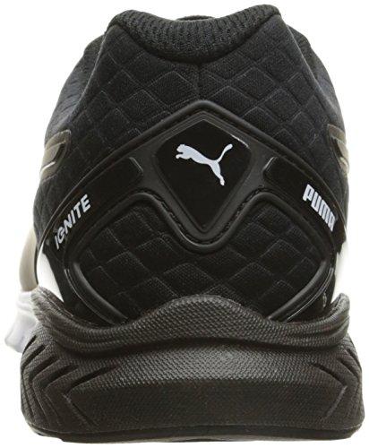 Puma Ignite Dual Nylon Damen Maschenweite Laufschuh Puma Black-Puma White