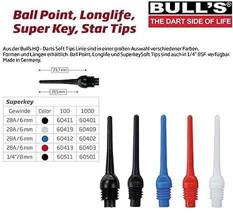 Bulls 6mm Super Key Tips 6 mm 2ba