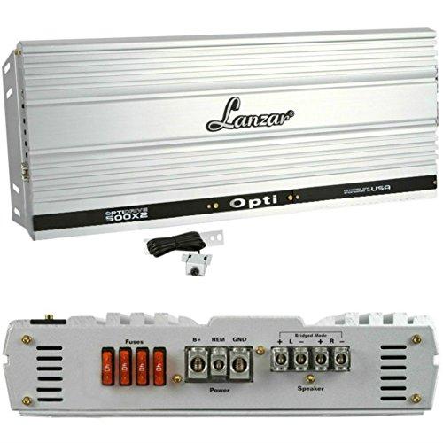AMPLIFICADOR LANZAR OPTI500X2 OPTADO 500X2 DE 2000