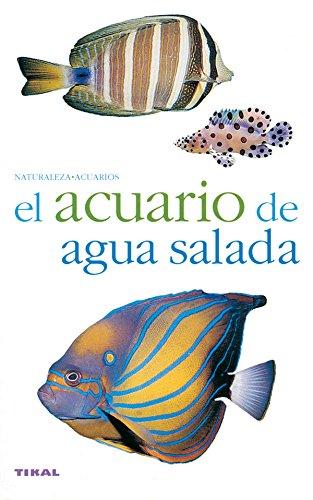 Acuario De Agua Salada(Naturaleza-Acuarios) por Aa.Vv.