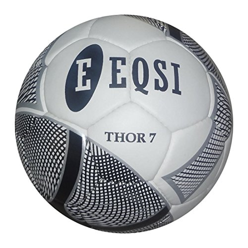 Eqsi 40001.UNI.7 Balón de Fútbol, Negro, S