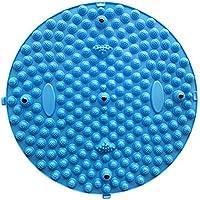 Preisvergleich für ZDDAB Große Runde Zehenplatte Fußmassage Matte Fitness Matte Magnetische Massage (Stück) (Farbe : Blau)