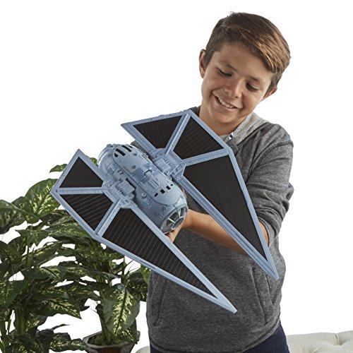Star Wars Rogue One   Set con figura  vehículo y dardos Nerf Tie Striker (Hasbro B7105EU4)