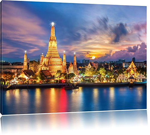 wat-arun-temple-night-view-bangkok-thailande-format-120x80-sur-toile-xxl-enormes-photos-completement