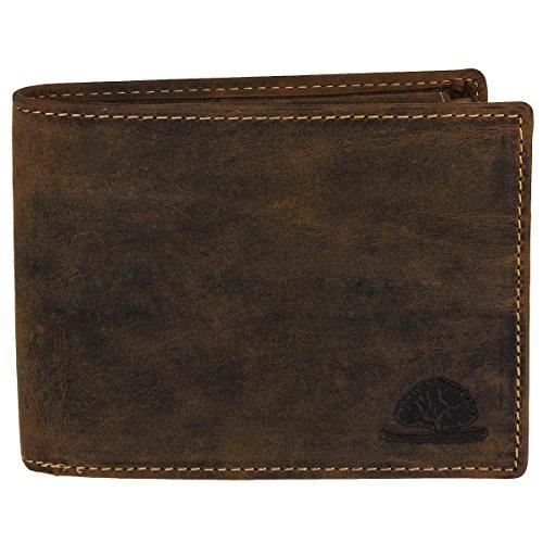 Greenburry Vintage Leder Geldbörse braun 1705-25