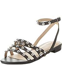 Guess Footwear Dress, Sandales Bride Cheville Femme, Noir, 37 EU