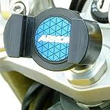 Buybits Deluxe 13mm Stange Motorrad Handy-Halterung für Kawasaki ZZR1200 (2006)