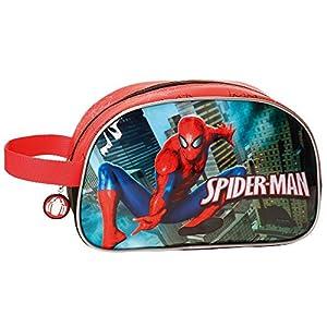 Spiderman-4074461 Neceser Adaptable, Multicolor, 26 cm (Joumma 4074461)