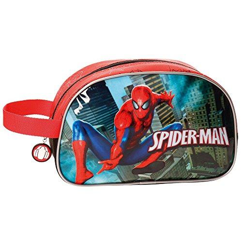 Spiderman-4074461 Neceser Adaptable,, 26 cm (Joumma 4074461)