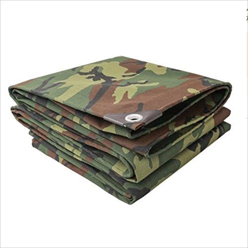 Duo camouflage esterno ispessito camuffamento telone tenda telone ombra protezione solare tessuto tenda telone impermeabile capannone panno può essere personalizzato 0.7mm -500g / m2 ( dimensioni : 4*7m )