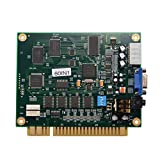 Soulitem 60 in 1 Klassische Videospielkarte CGA/VGA Ausgang PCB Motherboard für Jamma