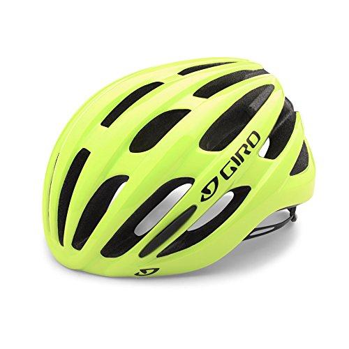 Giro Foray Rennrad Fahrrad Helm gelb 2019: Größe: L (59-63cm)